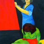 """Obra """"Autoretrato"""" Maite Arriaga colección 2015"""