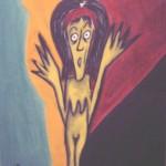 Obra EL SUSTO Maite arriaga 2000