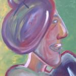 Obra MUJER CON-MONIO Maite Arriaga 2006