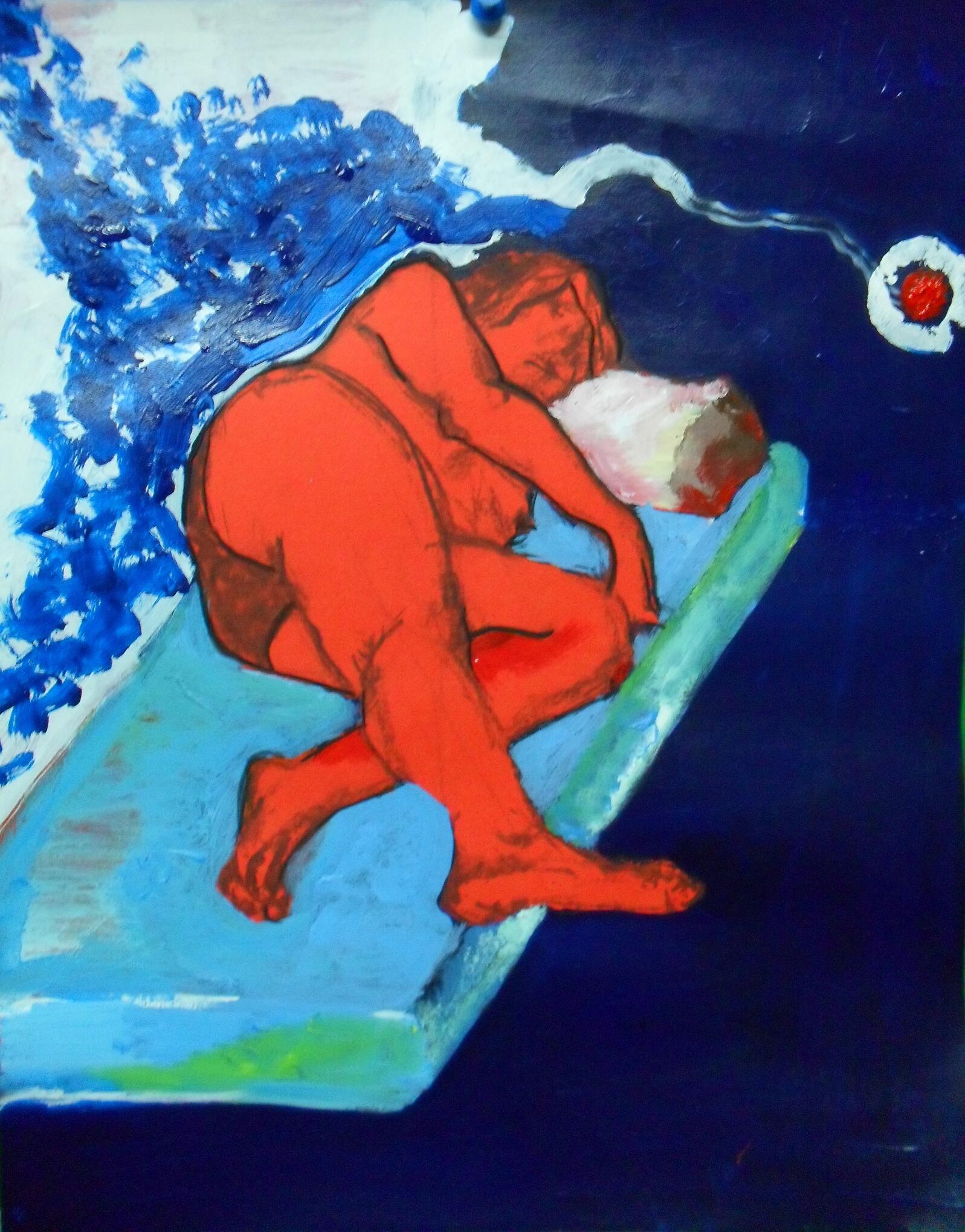 Soñar - Cuadro en venta Artista Maite Arriaga