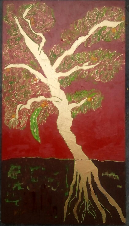 Árbol - Cuadro en venta Artista Maite Arriaga