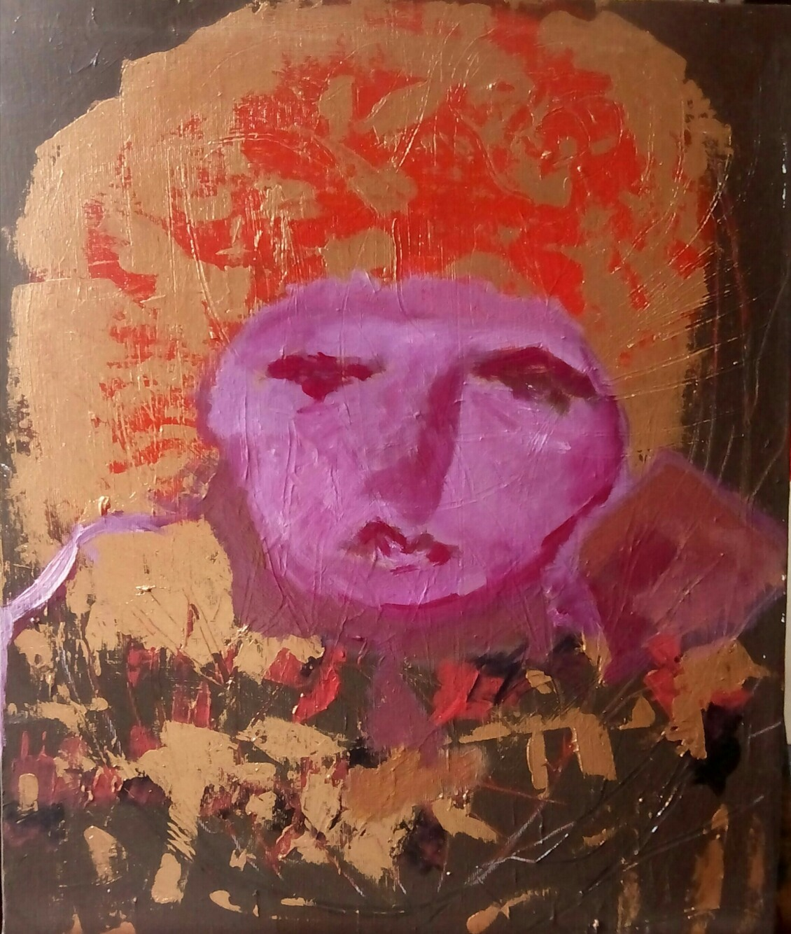 Rabia - Cuadro en venta Artista Maite Arriaga