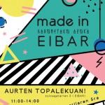 Made in Eibar, feria artesanía de navidad en EIBAR
