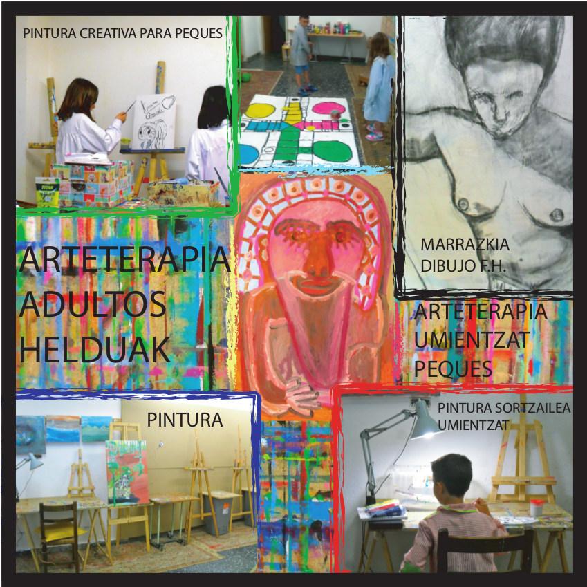 Pintura creativa, Arteterapia, Dibujo, Maite Arriaga, Talleres Artístico Creativos