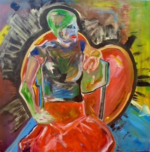 Esther, nere bihotza - Cuadro en venta Artista Maite Arriaga
