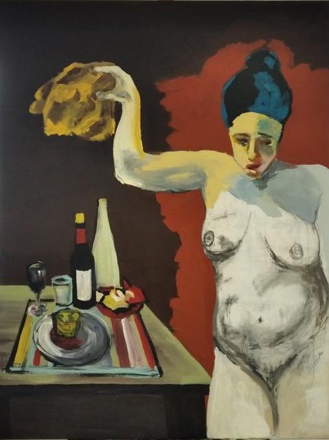 La Dieta - Cuadro en venta Artista Maite Arriaga