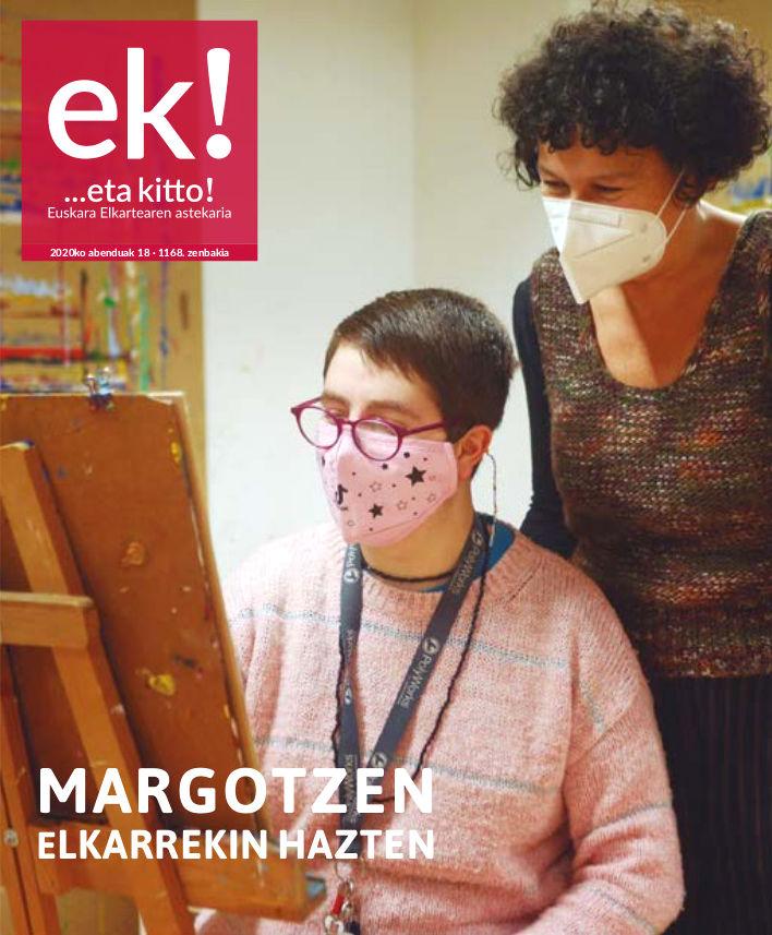 Ane Gonzalez y Maite Arriaga artículo en Eta Kitto!