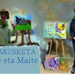 Exposición de  Ane y Maite en el Topaleku